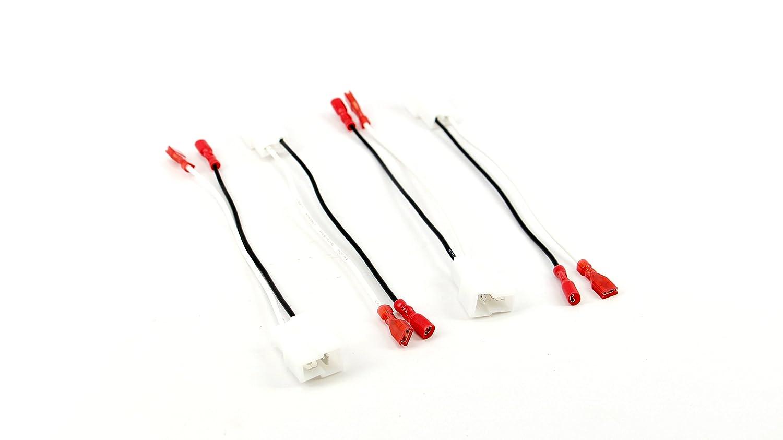 Xtenzi 2 Pair Speaker Harness Set for Chevrolet, Nissan, Volkswagen & Other Vehicles XT9300-SH