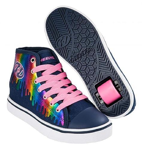 Heelys Zapatillas de Cross para Niños, (Denim/Rainbow Drip 000), 40.5