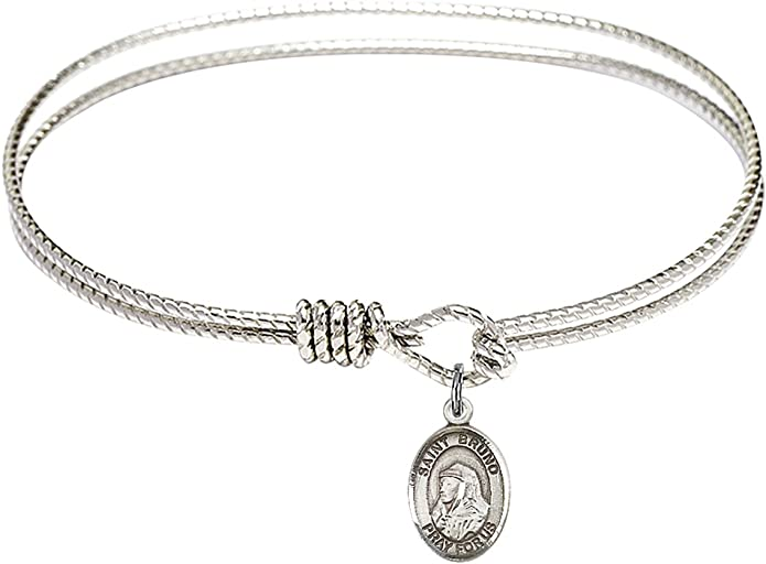 DiamondJewelryNY Sterling Silver St Kieran Pendant