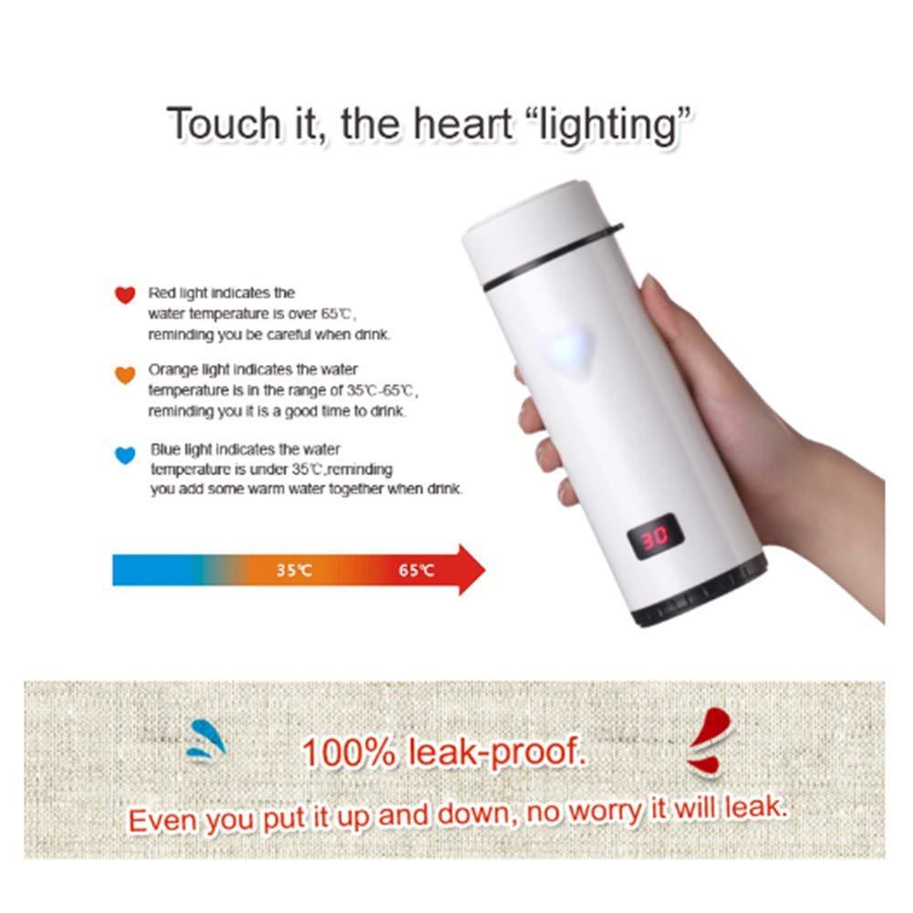 XC Vier Generationen Der Note Intelligente Intelligente Intelligente Herztemperaturschale, Liebes-Edelstahl-Isolierflasche, Temperaturanzeige LED-Schale, 3 Farben Wahlweise Freigestellt B07HK3NZL7 | Auf Verkauf  bf1885