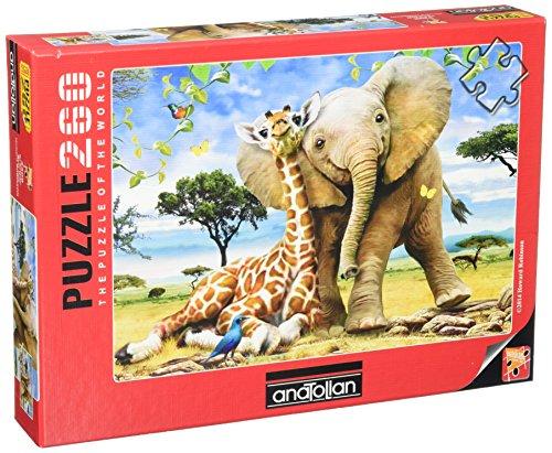 Rampant Elephant (Anatolian Best Pals Jigsaw Puzzle (260 Piece))