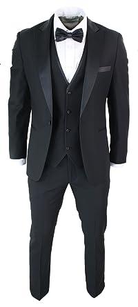 online retailer ddc12 f41ca Paul Andrew Abito 3 Pezzi da Sera da Uomo Smoking Classico ...