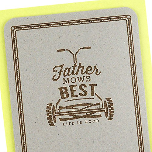 Hallmark Father's Day Greeting Card (Life is Good, Father Mows Best) Photo #6