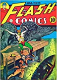 img - for Alan Light's Flashback #36 Reprinting Flash Comics #15 (Hawkman Cover) book / textbook / text book
