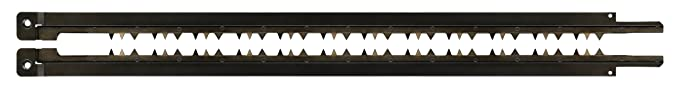 DeWalt Alligator-Spezialsägeblätter (Arbeitslänge 430 mm, Zahnmaterial: HSS, Universalblatt für Hart-und Weichholz, Brennholz