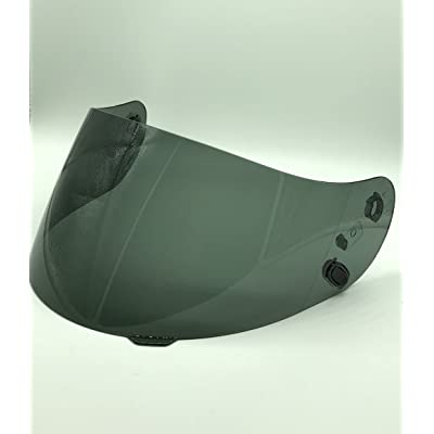 HJC HJ-09 Anti-Fog Dark Smoke Shield Visor for AC-12,CL-15,CL-16,CL-17,CL-SP,CS-R1,CS-R2,FS-10,FS-15,IS-16,FG-15 Kawasaki ZX, Kawasaki ZXSP: Automotive