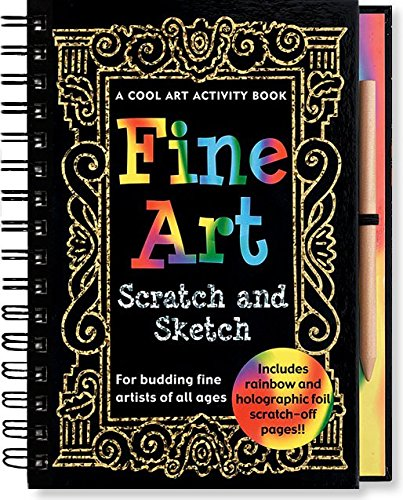 Fine Art Scratch and Sketch: A Cool Art Activity Book for Budding Fine Artists of All Ages (Scratch & Sketch) (Activity Books)]()