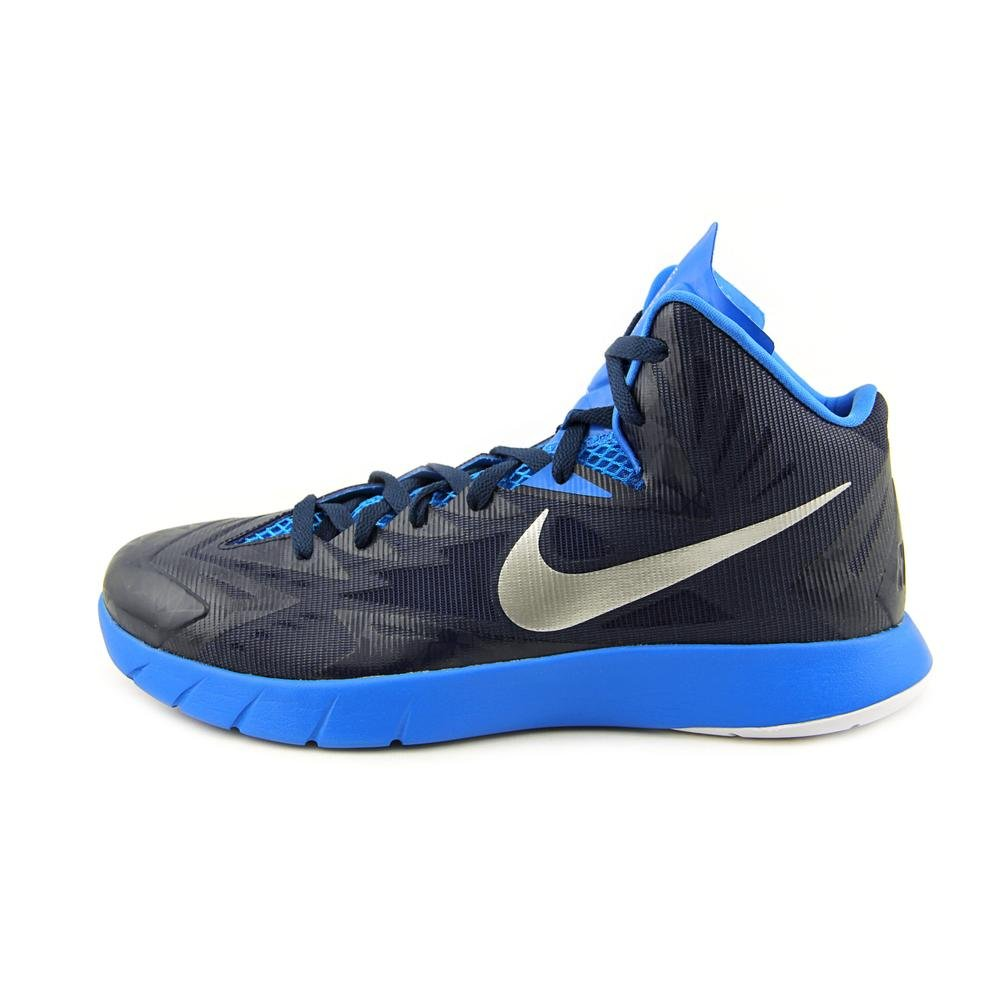best website 7cd89 eb765 NIKE Men s Lunar Hyperquickness TB Basketball Shoes-Royal Blue Silver-9   Buy Online at Low Prices in India - Amazon.in