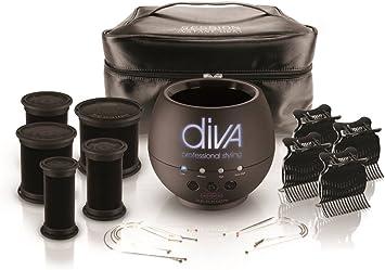 Diva - Rizador de pelo (con funda incluida): Amazon.es: Salud y cuidado personal