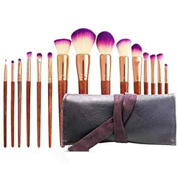 Amazon.com: Juego de brochas de maquillaje de unicornio ...
