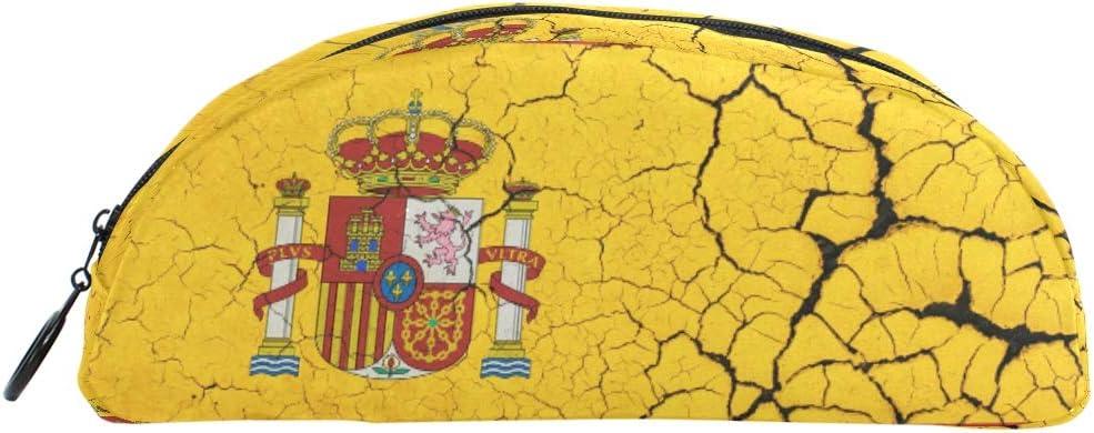 Bonie - Estuche para lápices, diseño de bandera de España: Amazon.es: Oficina y papelería