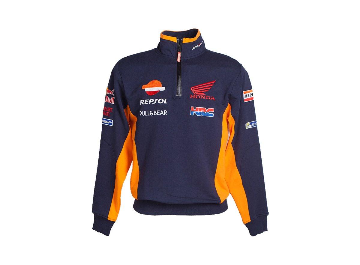 GP RACING Sudadera para Hombre Team Repsol M Turquesa: Amazon.es: Coche y moto