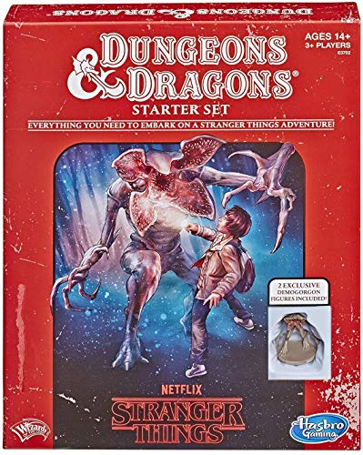 Hasbro Gaming Stranger Things Dungeons & Dragons Roleplaying Game Starter Set from Hasbro Gaming