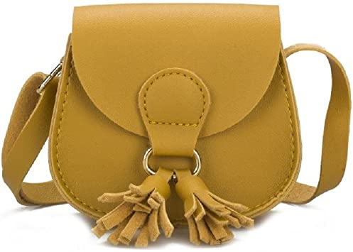 Cute Toddler Shoulder Bag Children Tassel Handbag Girl Crossbody Bag H