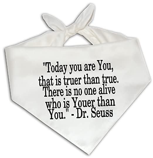 Amazoncom Today You Are You Dr Seuss Quote Quotation Dog