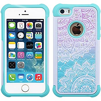 Amazon.com: iPhone SE Case, iPhone 5S Case, iPhone 5 Case ...