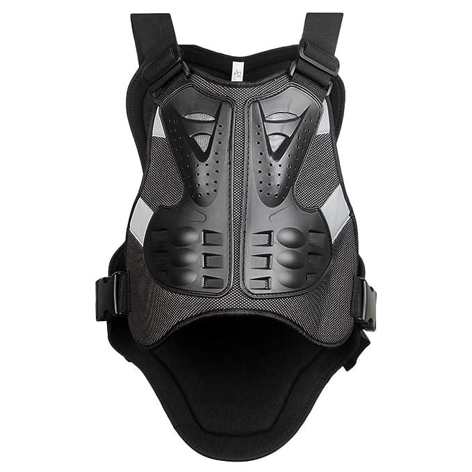 Amazon.com: Chaquetas de moto Motocross espalda escudo sin ...