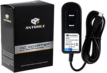 POWE-Tech USB Power Charger Data SYNC Cable Cord Lead for Barnes/&Noble eReader Nook Touch
