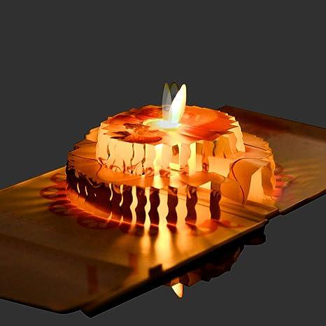 Amazon.com: Antizer - Tarjeta de felicitación de cumpleaños ...