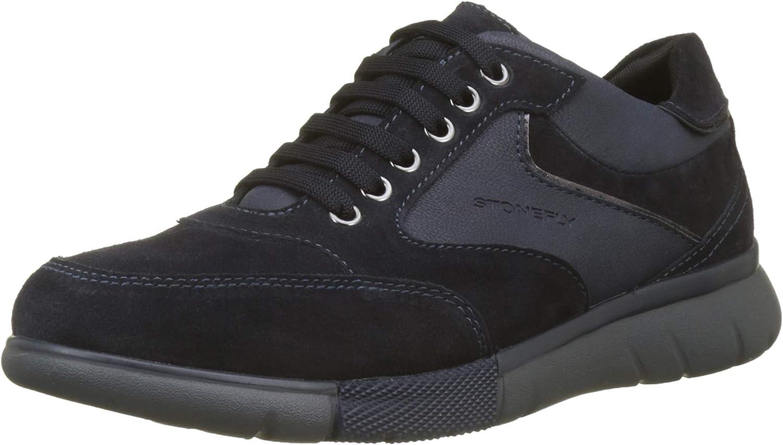 TALLA 43 EU. Stonefly Neptune II 2 Velour, Zapatos de Cordones Oxford para Hombre