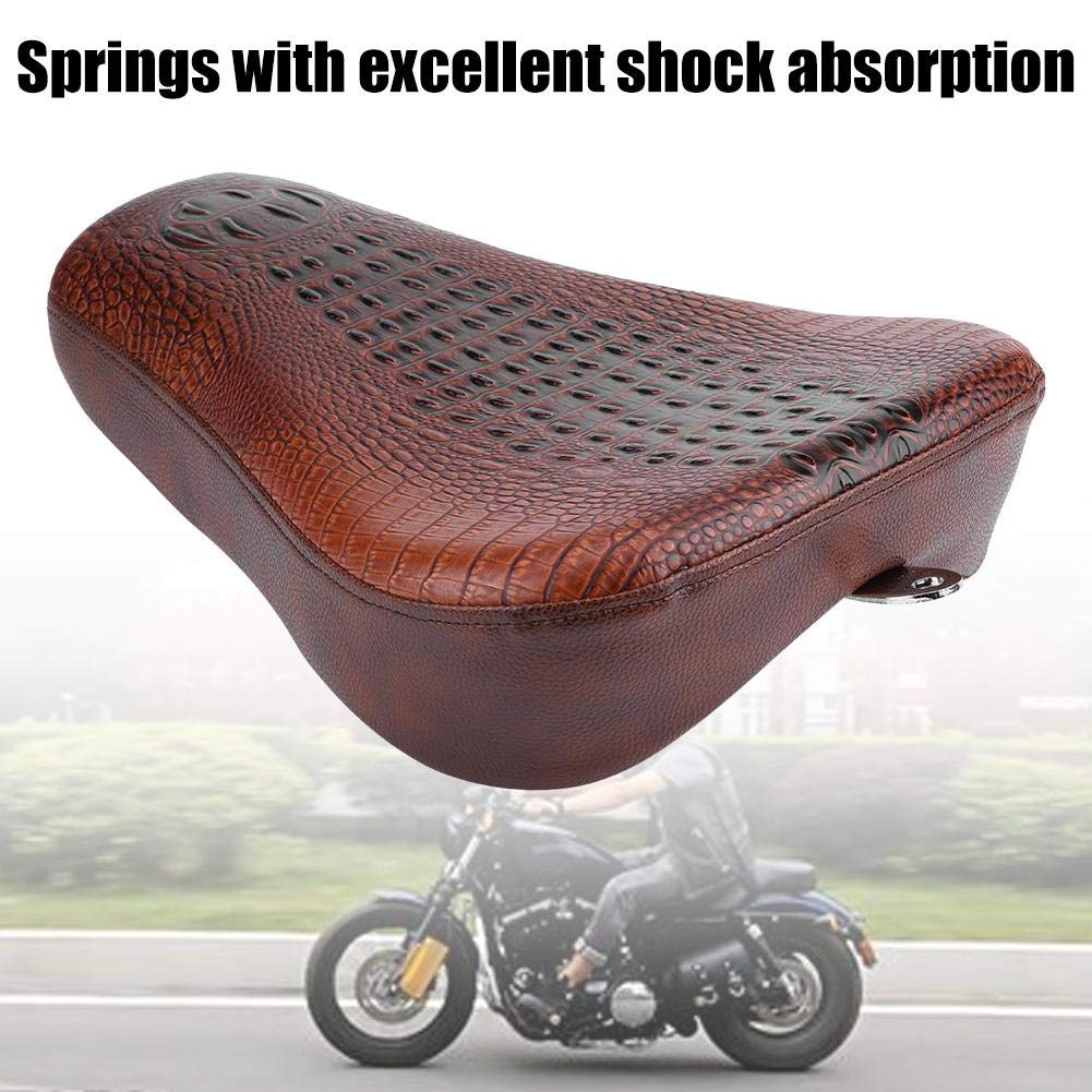 XFMT Motorcycle Front Solo Seat Cushion Compatible with Harley Sportster XL883 XL1200 48 72 2012-2015