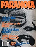 img - for Paranoia: The Conspiracy Reader (Vol 3, No 4, Issue 11) book / textbook / text book