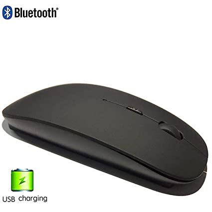 Amazon Com Peibo Bluetooth Mouse Rechargeable For Laptop Bluetooth