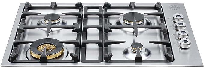 30 gas cooktop. Interesting Cooktop Bertazzoni Professional Series QB30400X 30 Gas Cooktop 4 Sealed Burners  18000 BTU Brass Burner Intended L