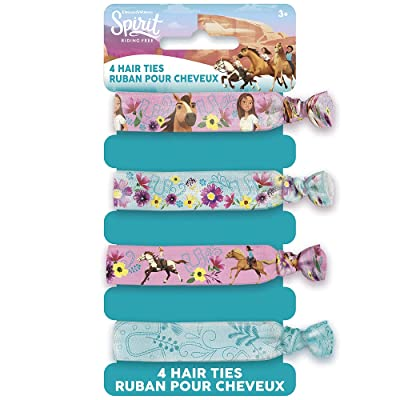 Unique Spirit Riding Free Party Hair Ties, 1 Pack: Toys & Games