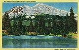 Mt. Shasta View in the Cascades (12x18 Fine Art Print, Home Wall Decor Artwork Poster)