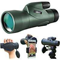 Gosky 12x55 High Definition Monocular Telescope and Quick Phone Holder-2020… photo