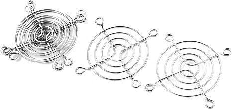 Acero 60 mm Ventilador Protector de dedos Rejilla 60mm los ventiladores axiales 50 mm