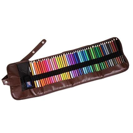 AOLVO Juego de lápices de acuarela profesionales (48 unidades, alta ...