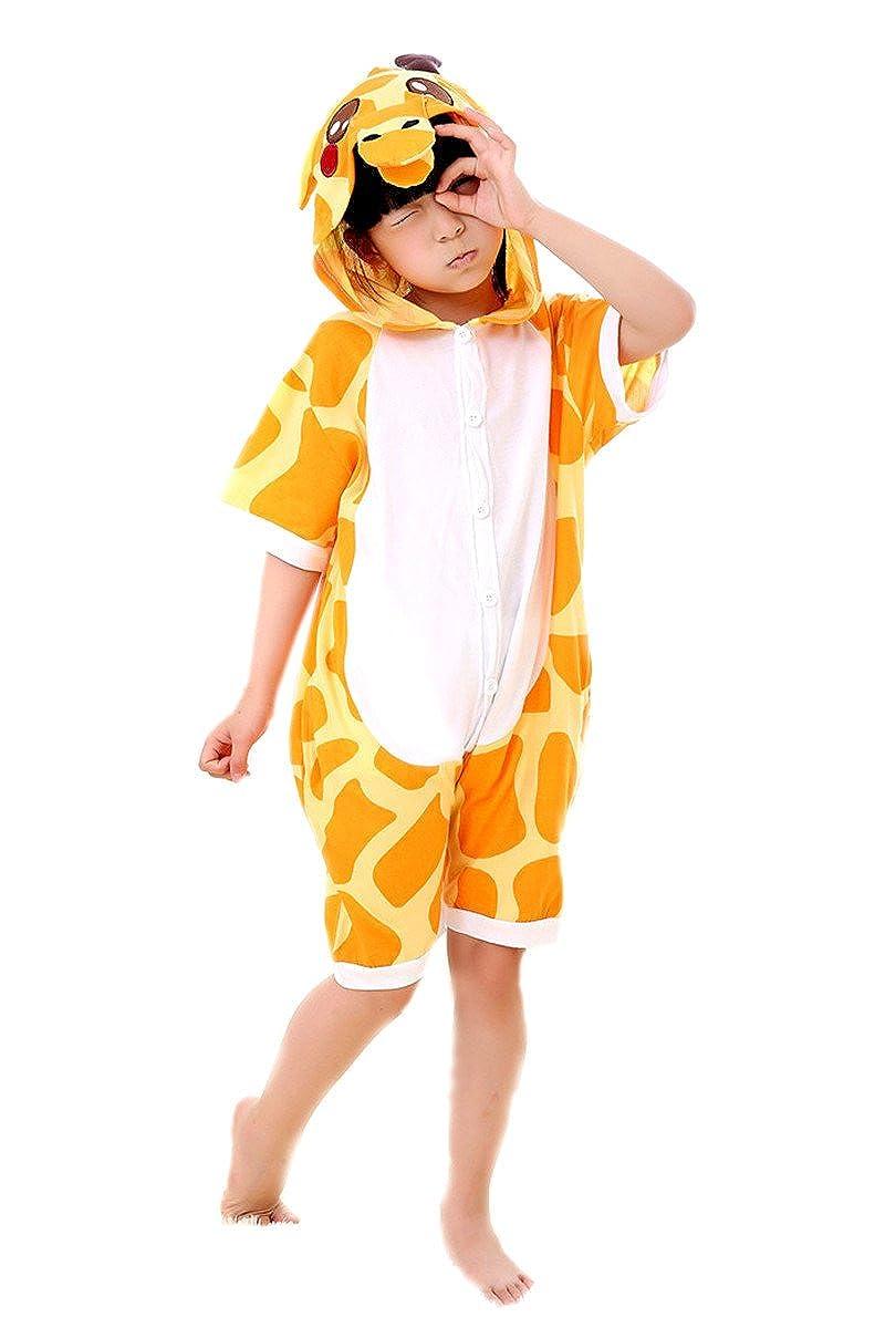 d63390651049 Childrens Giraffe Animal Cartoon Cosplay Kigurumi One Piece Pajamas One-Piece  Pajamas