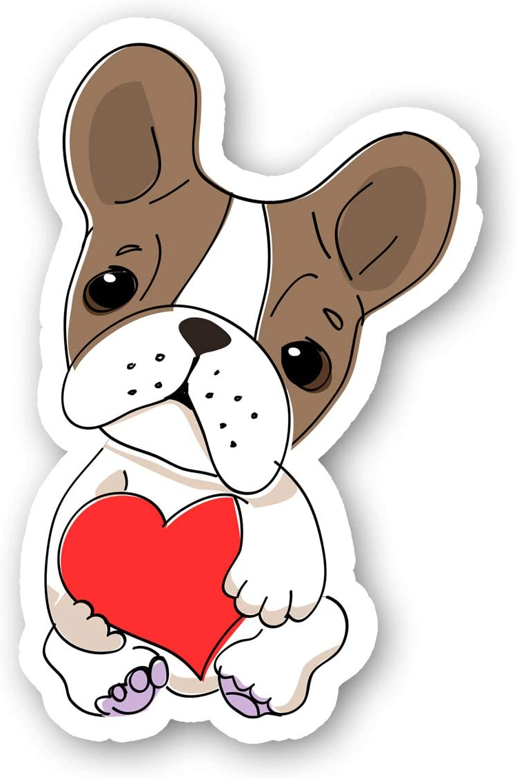 Frenchie Sticker French Bulldog Stickers - Laptop Stickers - 2.5 Inches Vinyl Decal - Laptop, Phone, Tablet Vinyl Decal Sticker S214466