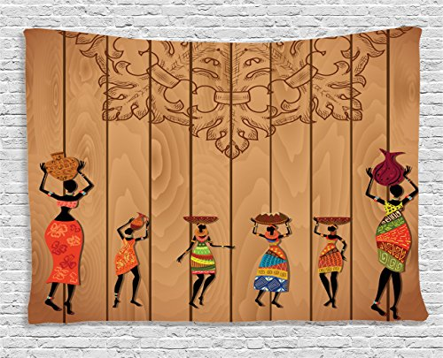 Ambesonne African Tapestry, Ancient African Girl Images for sale  Delivered anywhere in USA
