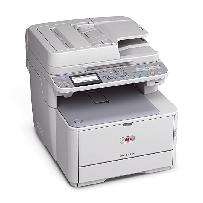 OKI MC342dnw A4-Farb-4-in-1-Multifunktionsdrucker: Amazon.de ...
