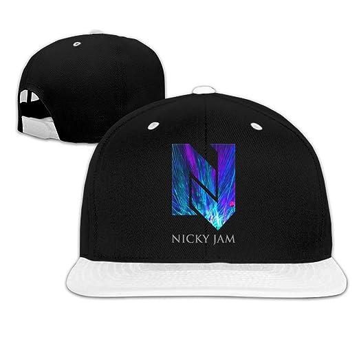 BobBThorpe - Gorra de béisbol Unisex con Logo de Nicky Jam: Amazon ...