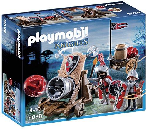 Playmobil-Caballeros-halcn-y-can-6038