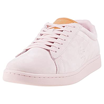 cab23fa8bf7987 Lacoste Carnaby Evo 317 9 Mens Trainers Light Pink - 11 UK  Amazon ...
