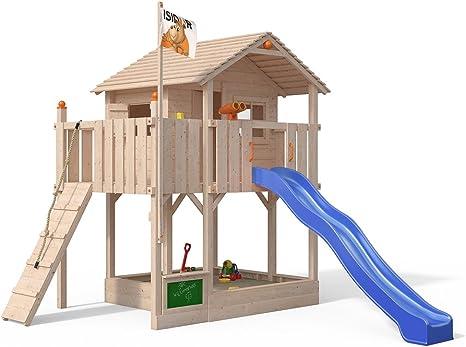 Casa de juguete Killimando, de Isidor, con rampa de escalada ...