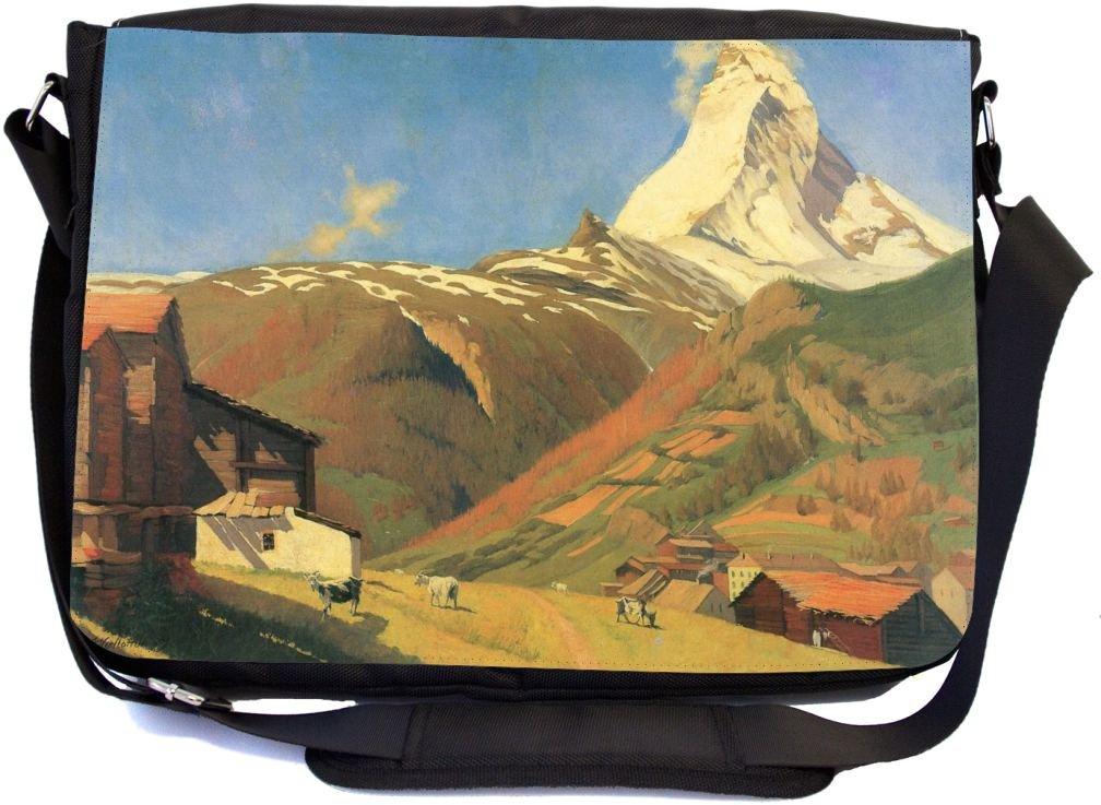 febf3c4d27b2 cheap Rikki Knight Felix Vallotton Art View of Zermatt Design ...