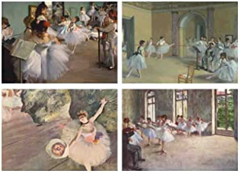 Set of 4Placemats Degas