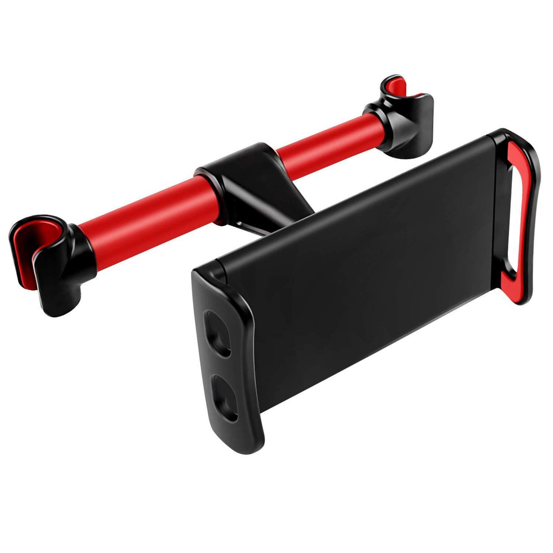 Acslam Auto Kopfstü tze Halterung, Tablet Halterung Auto Rü cksitz Halter Universal Handyhalterung fü r iPad Air Mini 2 3 4, New iPad Pro 9.7, 10.5, Handy und Tablet mit 4~11 Zoll (Schwarz)