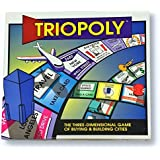 Triopoly Super Monopoly Board Game. 3 Dimensions of Monopoly Strategy.