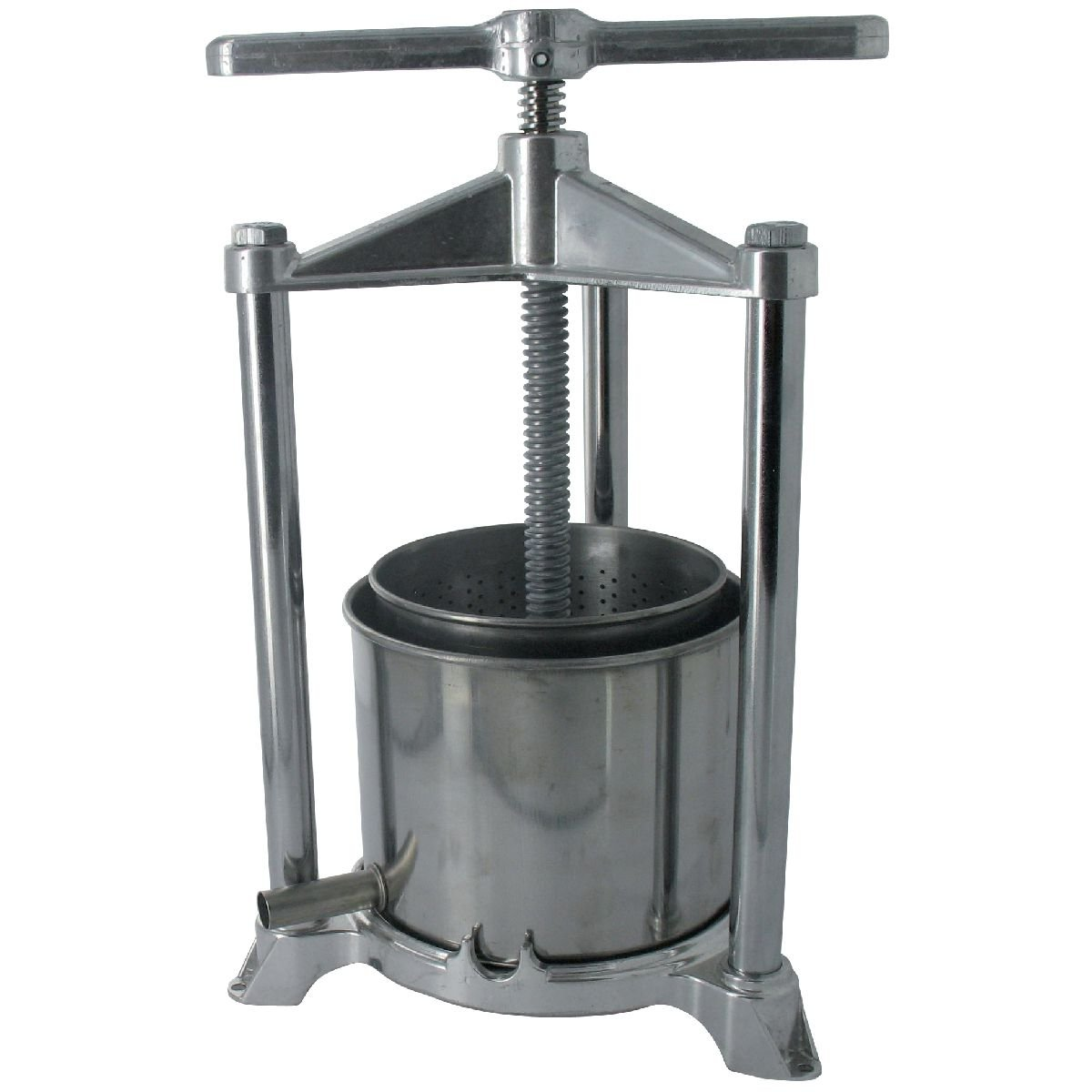 NEW 1.5 Litre STAINLESS FRUIT WINE CHEESE HERB KITCHEN PRESS ... | {Küchenpressen 45}