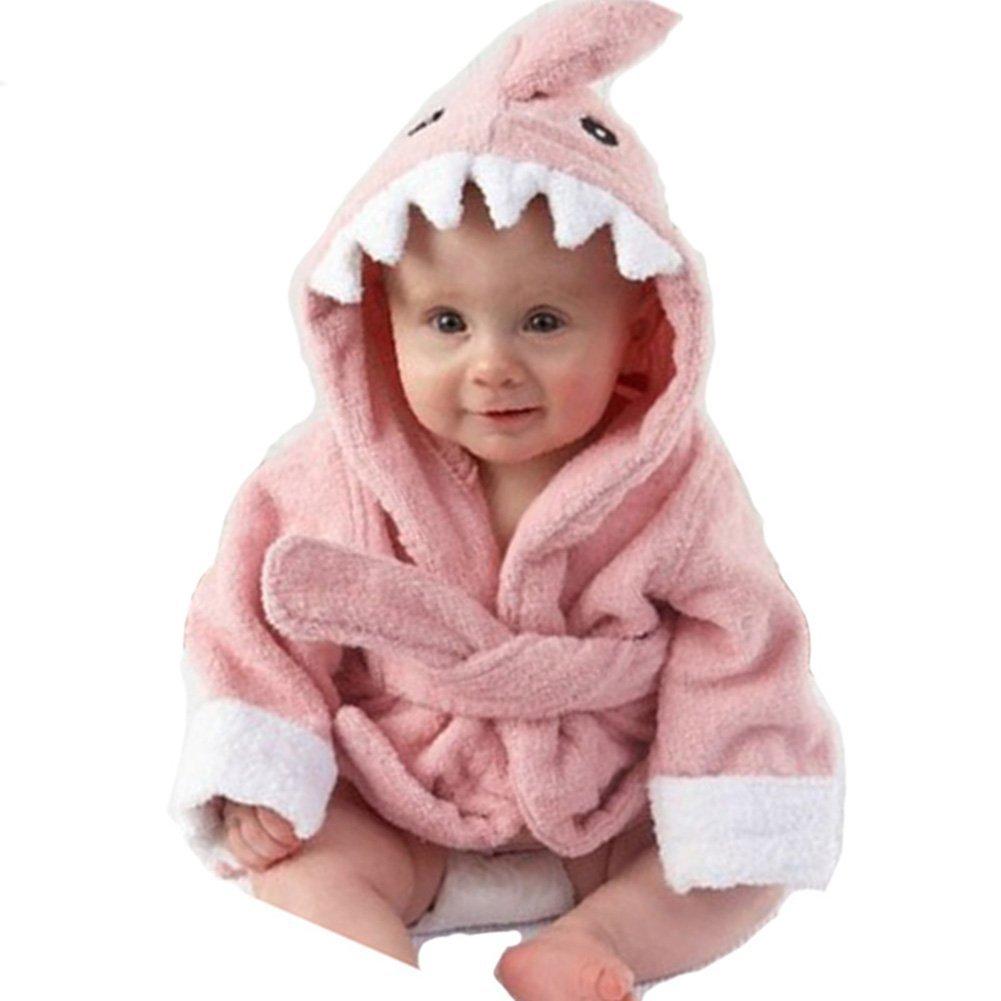 ★お求めやすく価格改定★ Happy childhood SLEEPWEAR ユニセックスベビー childhood Pink Shark SLEEPWEAR Shark B07DV7FXKY, BloomBroome:079377b7 --- a0267596.xsph.ru
