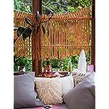 The House Phoenix Burnt Orange Bohemian Macrame Wall Hanging Or Window Curtain Handmade Wedding Backdrop Nursery Decor