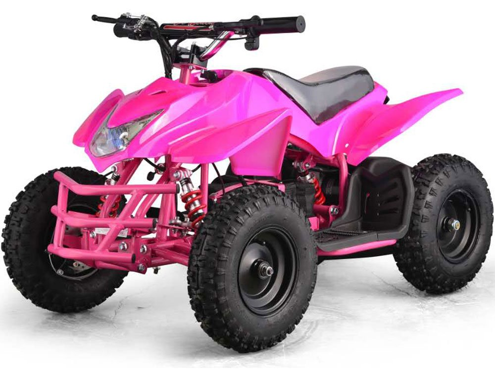 Outdoor Kids Children Titan 24v Pink Mini Quad Atv