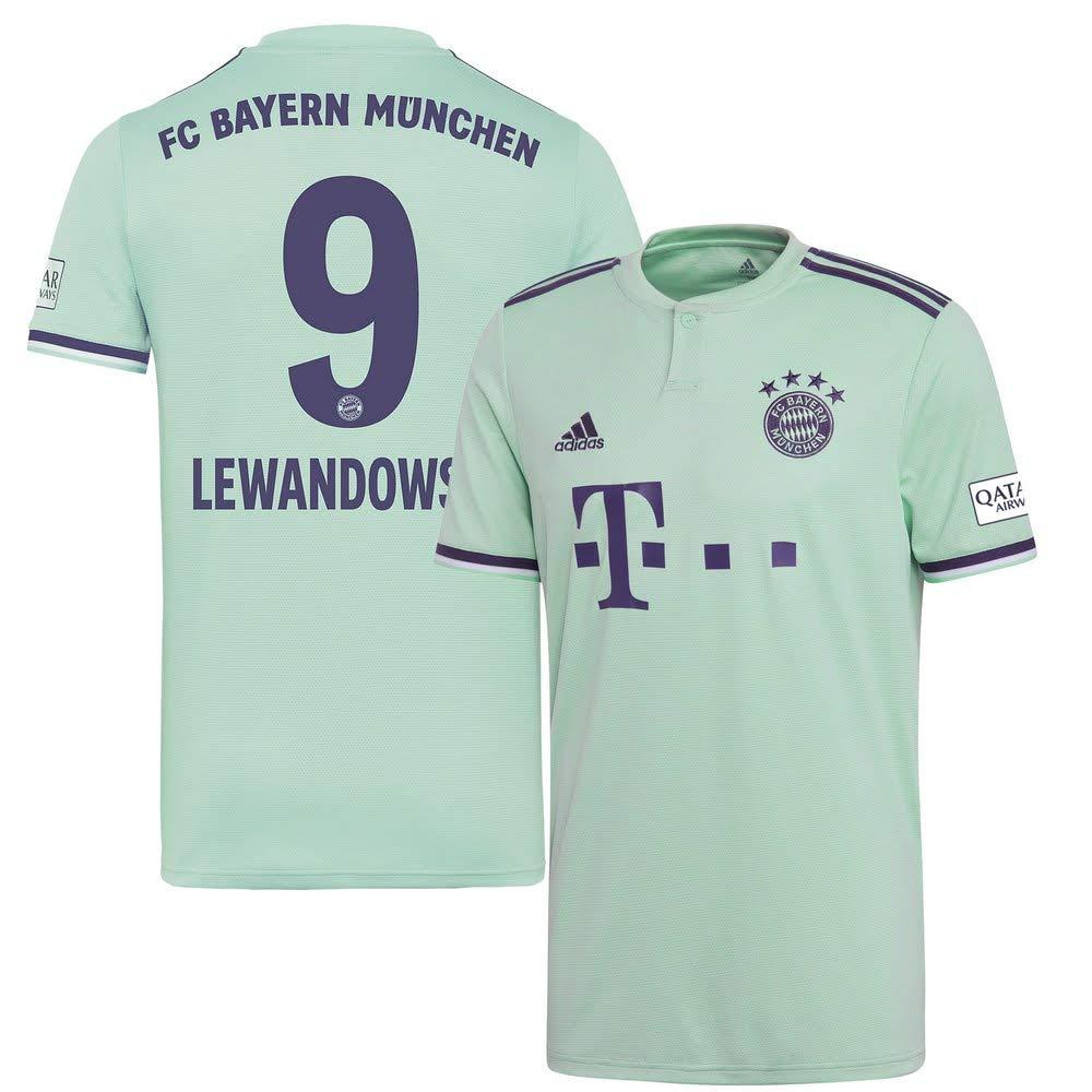 Player Print - adidas Performance Bayern München Away Trikot 2018 2019 + Lewandowski 9